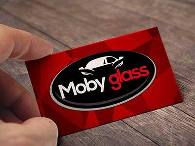 Carte De Visite Mobyglass Stickers Signaletique Agence Pub Publicite Etiquette Lettrages Sete Vias Pezenas Clermont Agde Herault Languedoc Occitanie